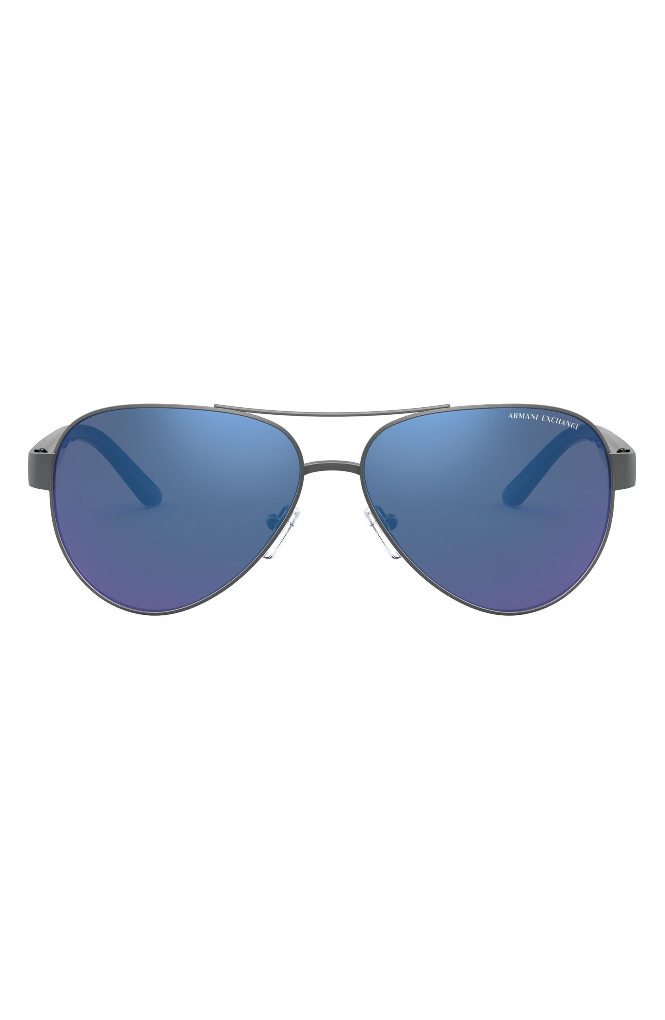 34mm Aviator Sunglasses