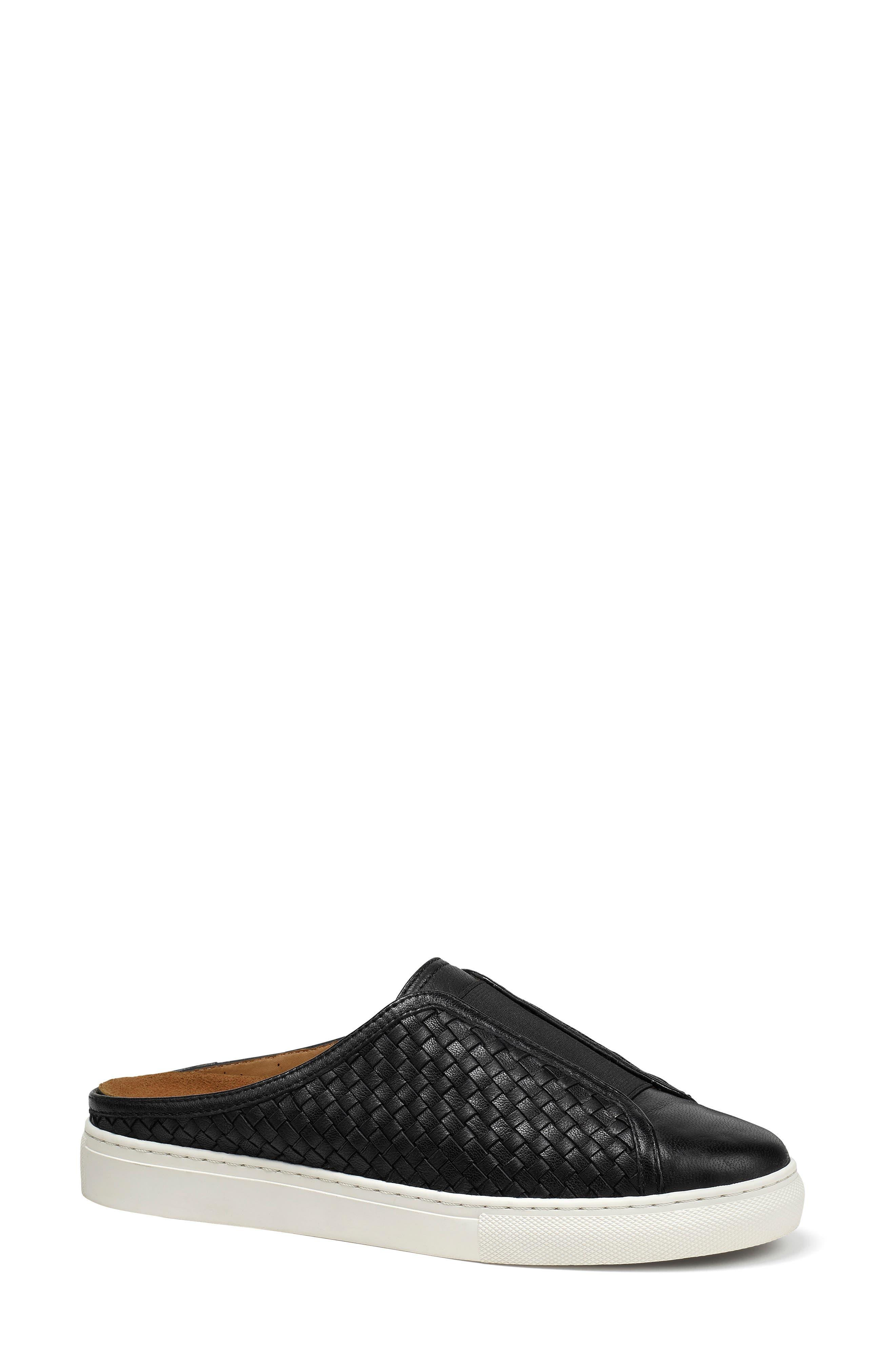 Trask Lacy Sneaker Mule- Black