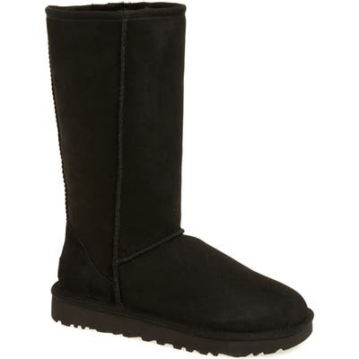 UGG Classic Ii Genuine Shearling Lined Tall Boot, Black
