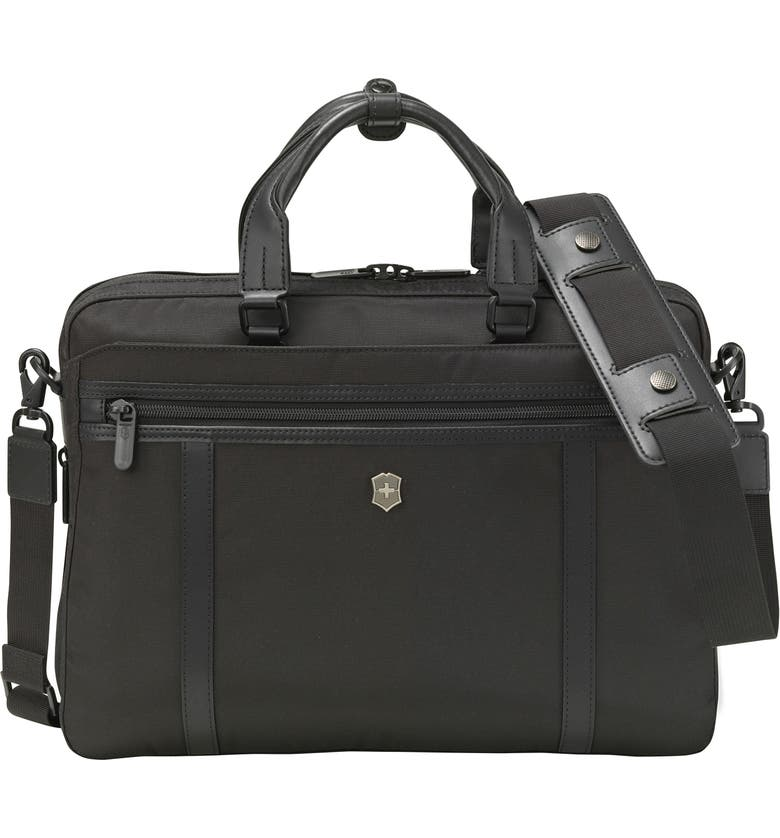VICTORINOX SWISS ARMY<SUP>®</SUP> Victorinox Swiss Army Werks Pro 2.0 13-Inch Laptop Briefcase, Main, color, BLACK