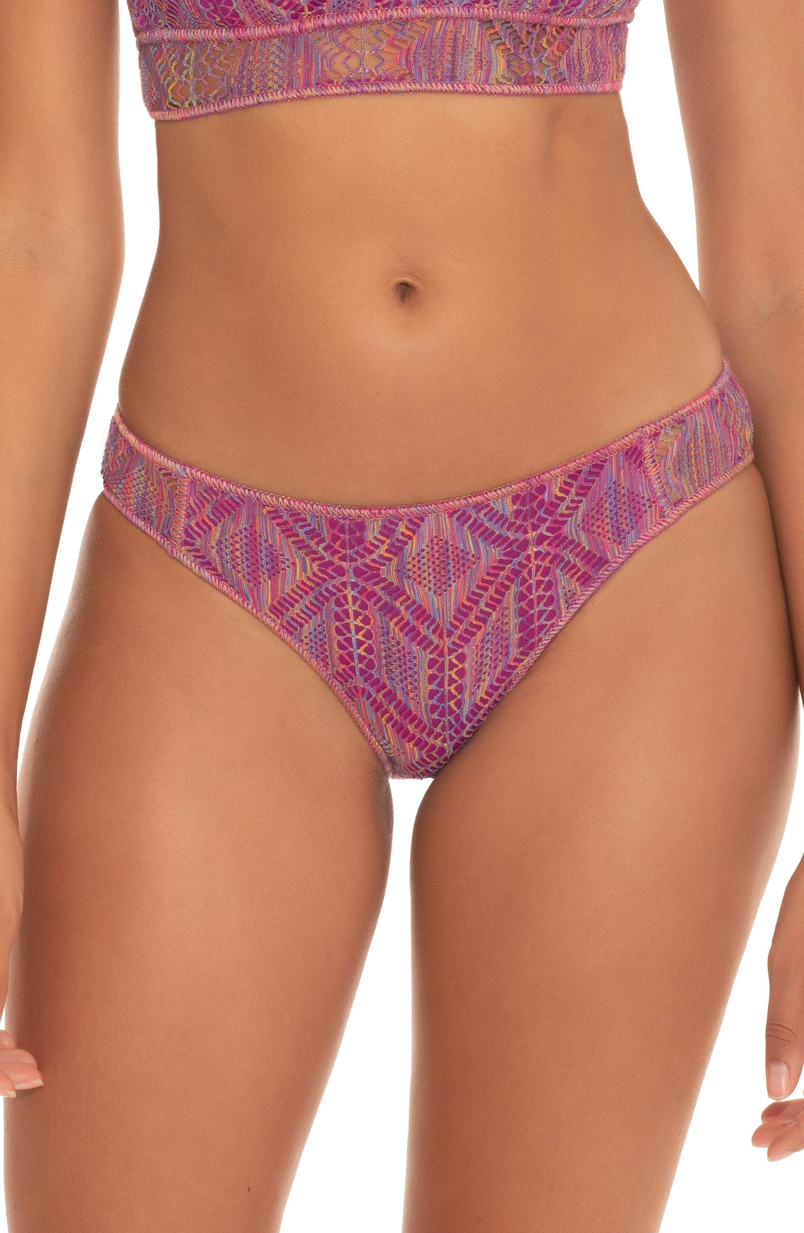 Adela Mosaic Hipster Bikini Bottoms