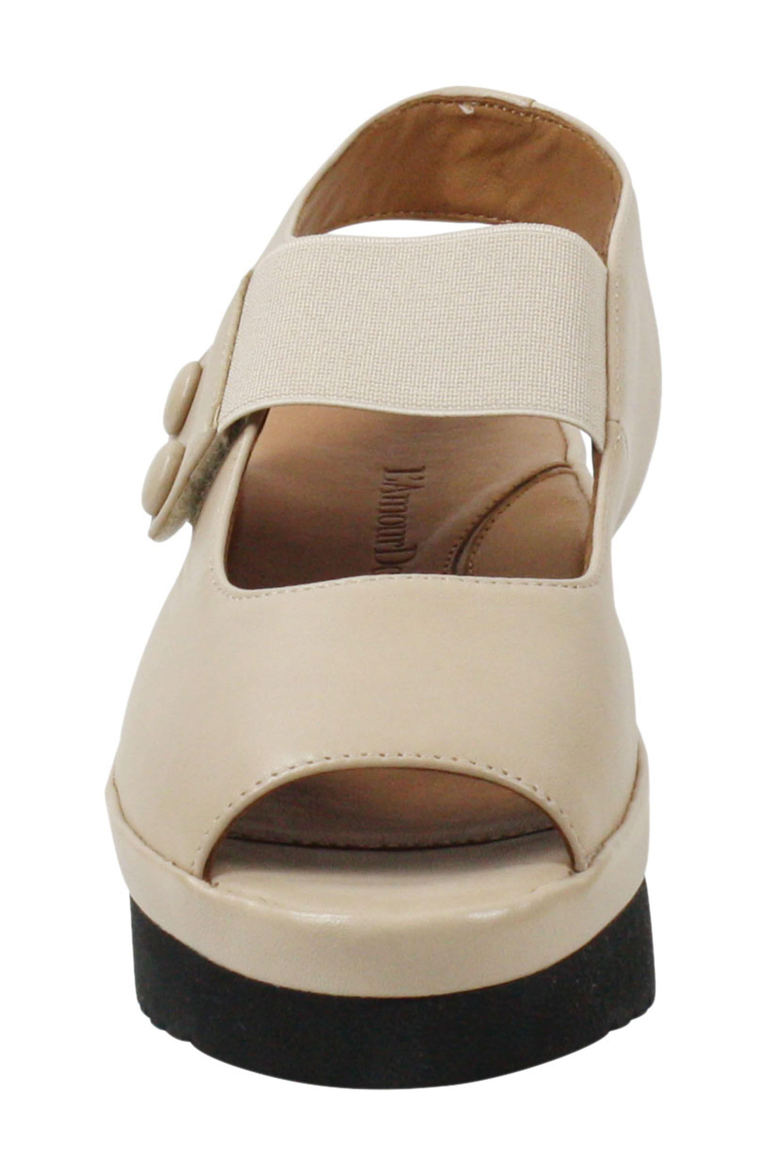 ,                             Adalicia Platform Sandal,                             Alternate thumbnail 4, color,                             NUDE LEATHER