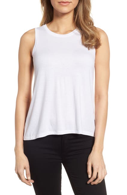 Image of Halogen Keyhole Back Tank Top