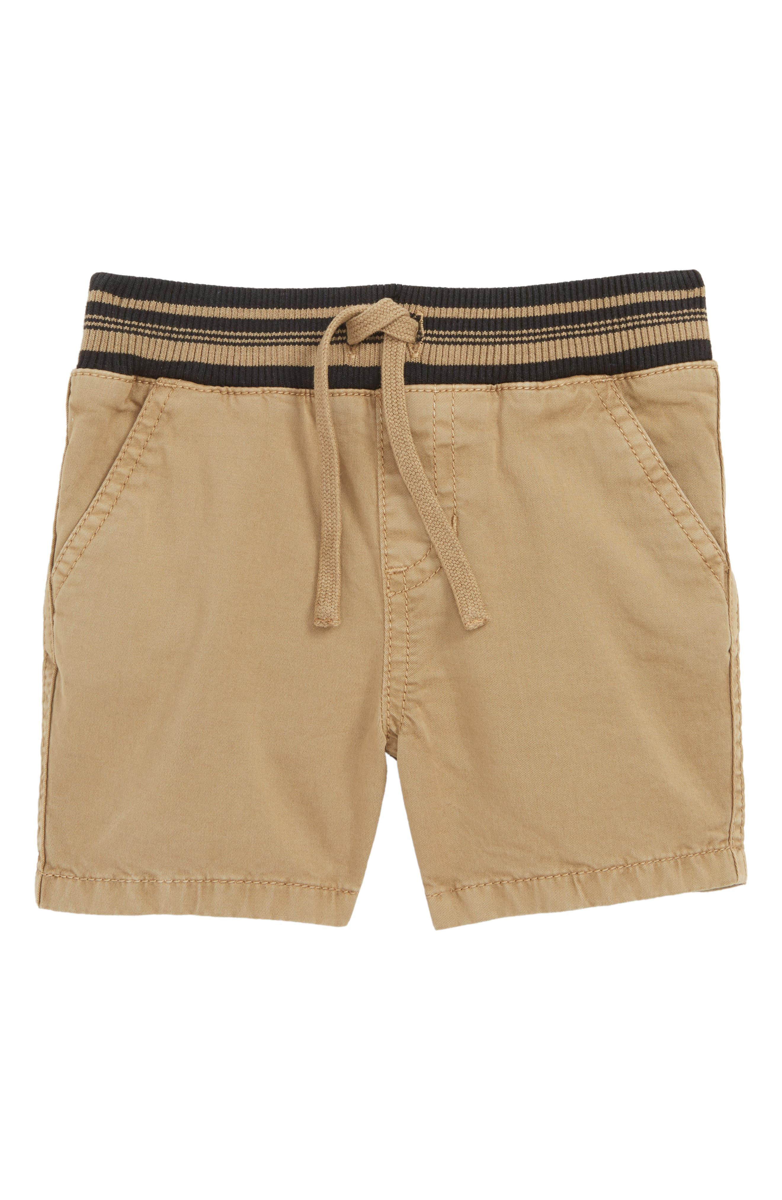 Prime Time Unwind Time Shorts, Main, color, TAN LEAD