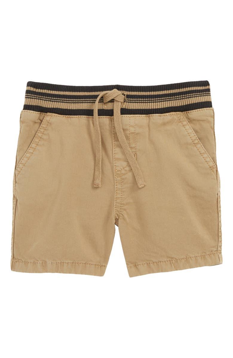 TUCKER + TATE Prime Time Unwind Time Shorts, Main, color, TAN LEAD