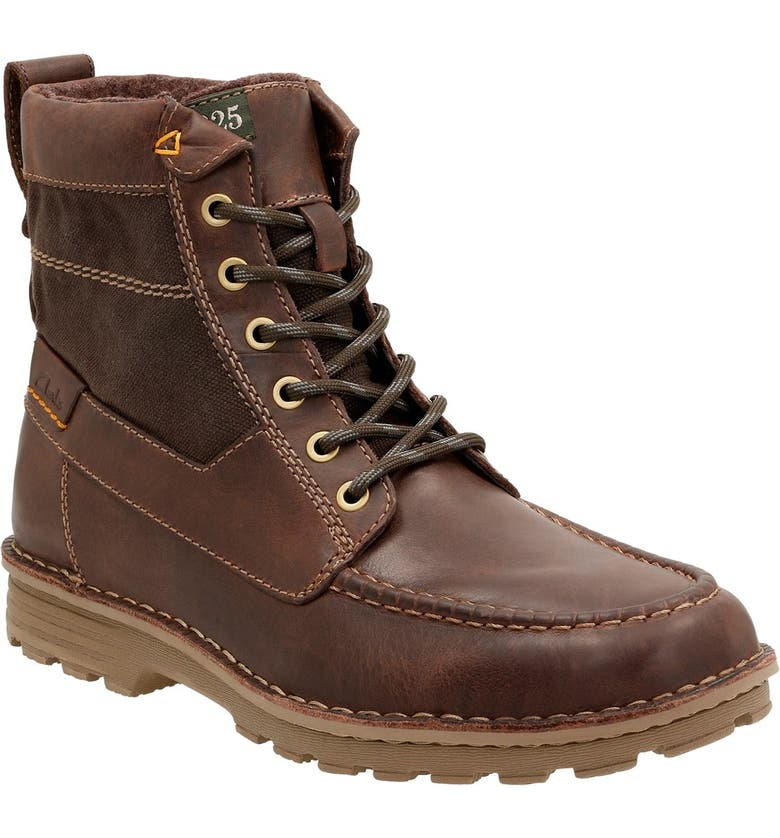 official shop authorized site where can i buy Clarks® 'Sawtel Hi' Moc Toe Boot (Men) | Nordstrom