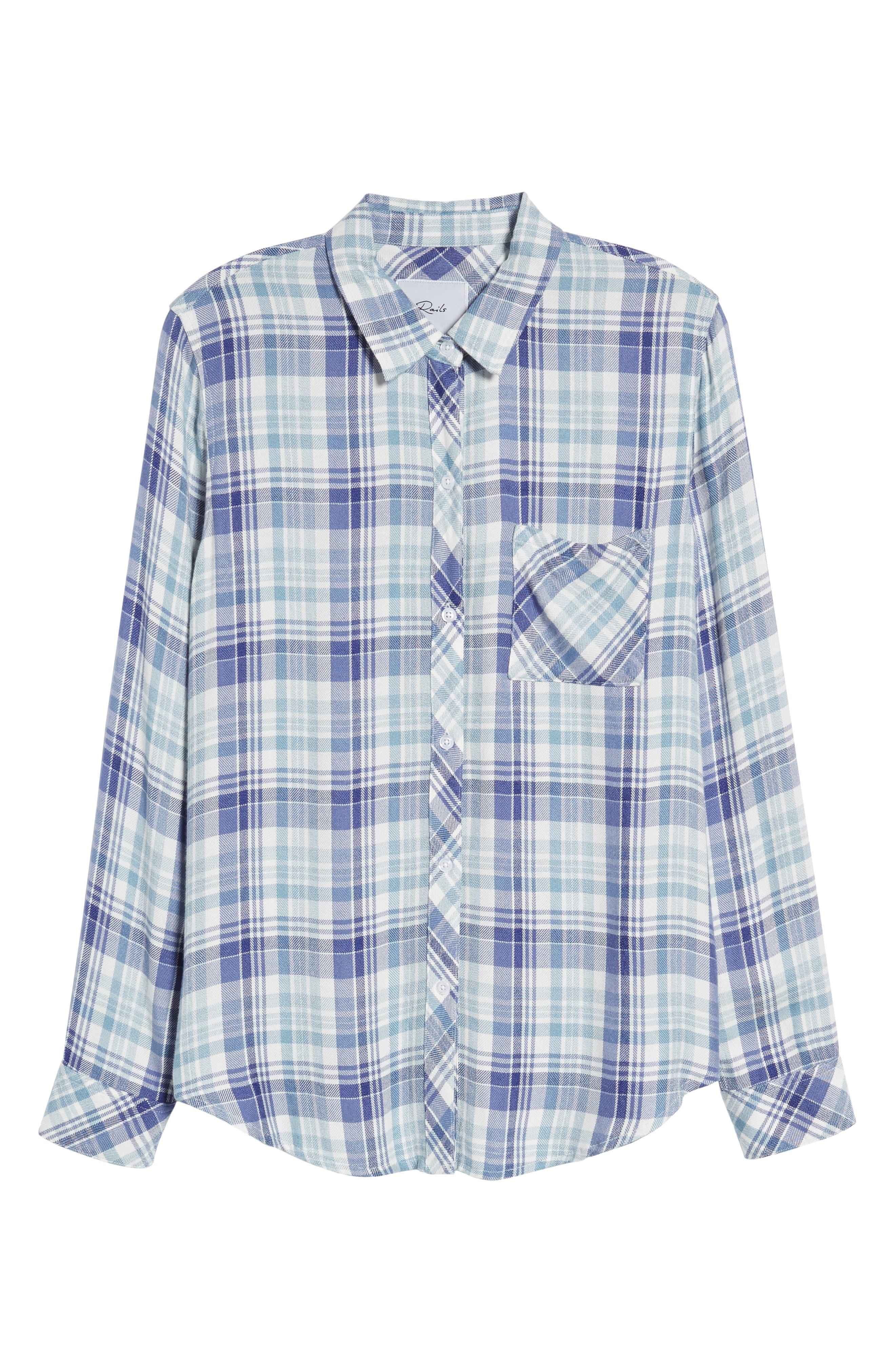 ,                             Hunter Plaid Shirt,                             Alternate thumbnail 809, color,                             431