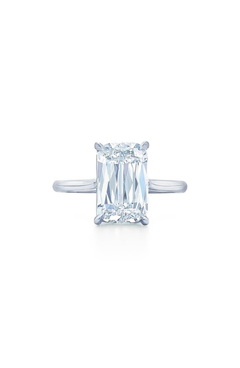 KWIAT Ashoka Cut Diamond Solitaire Platinum Ring, Main, color, 040