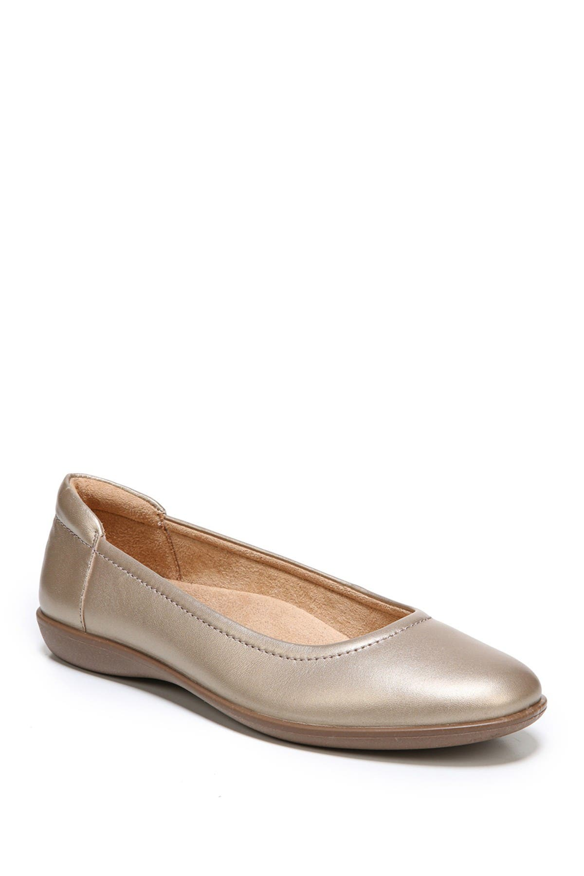 Naturalizer | Flexy Leather Flat - Wide