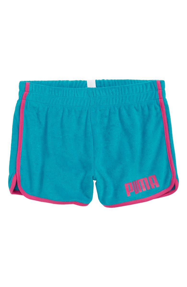 PUMA Terry Cloth Fashion Shorts, Main, color, 400