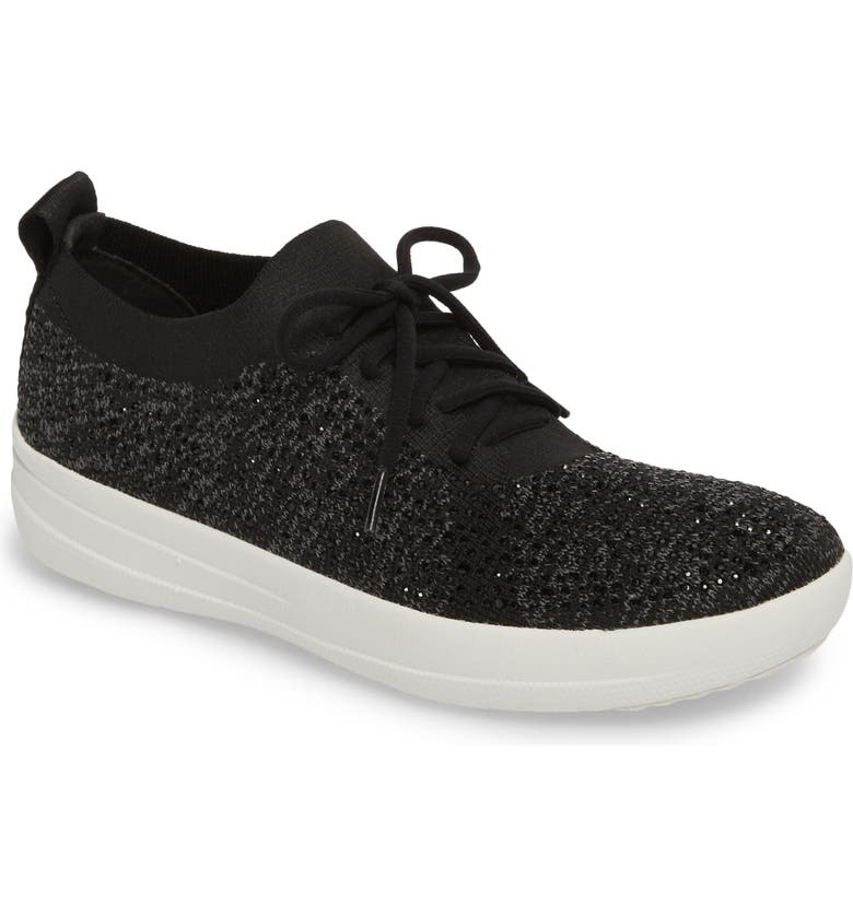 FITFLOP Uberknit<sup>™</sup> F-Sporty Sneaker, Main, color, 001