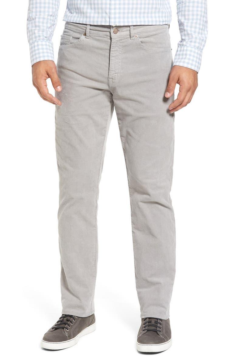 475e6afc409ed5 Peter Millar Tailored Straight Leg Stretch Corduroy Pants | Nordstrom