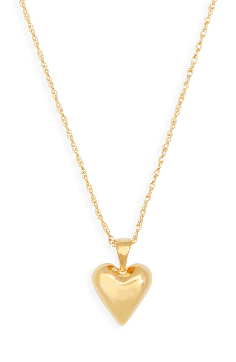 SOPHIE BUHAI Tiny Heart Pendant Necklace, Main, color, 18K GOLD VERMEIL