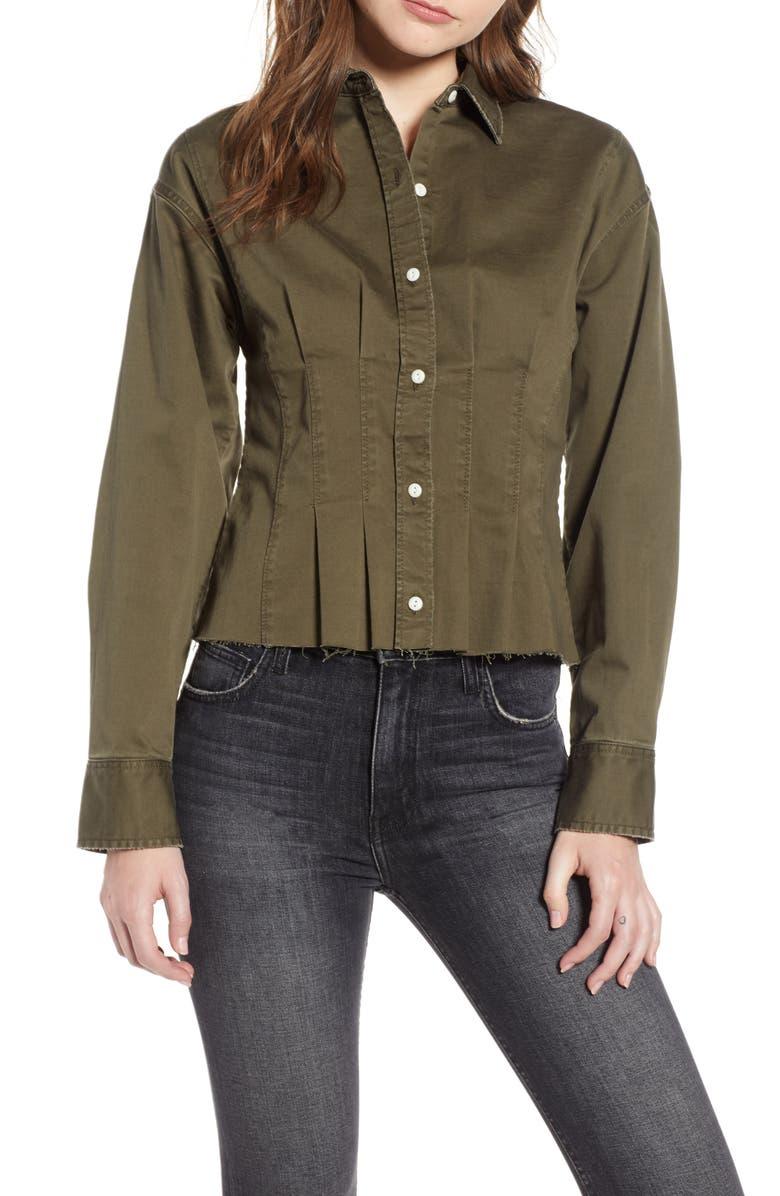 CURRENT/ELLIOTT The Tella Shirt, Main, color, 340