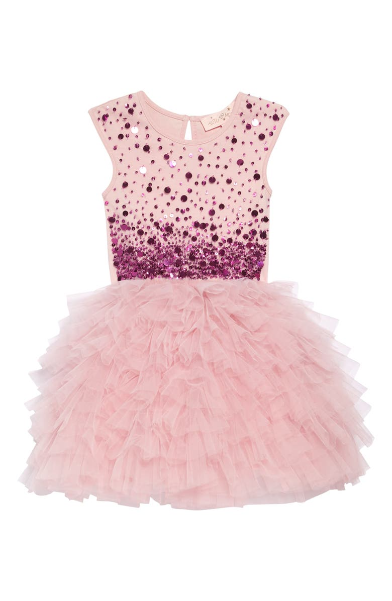TUTU DU MONDE Confetti Tutu Dress, Main, color, BLUSH