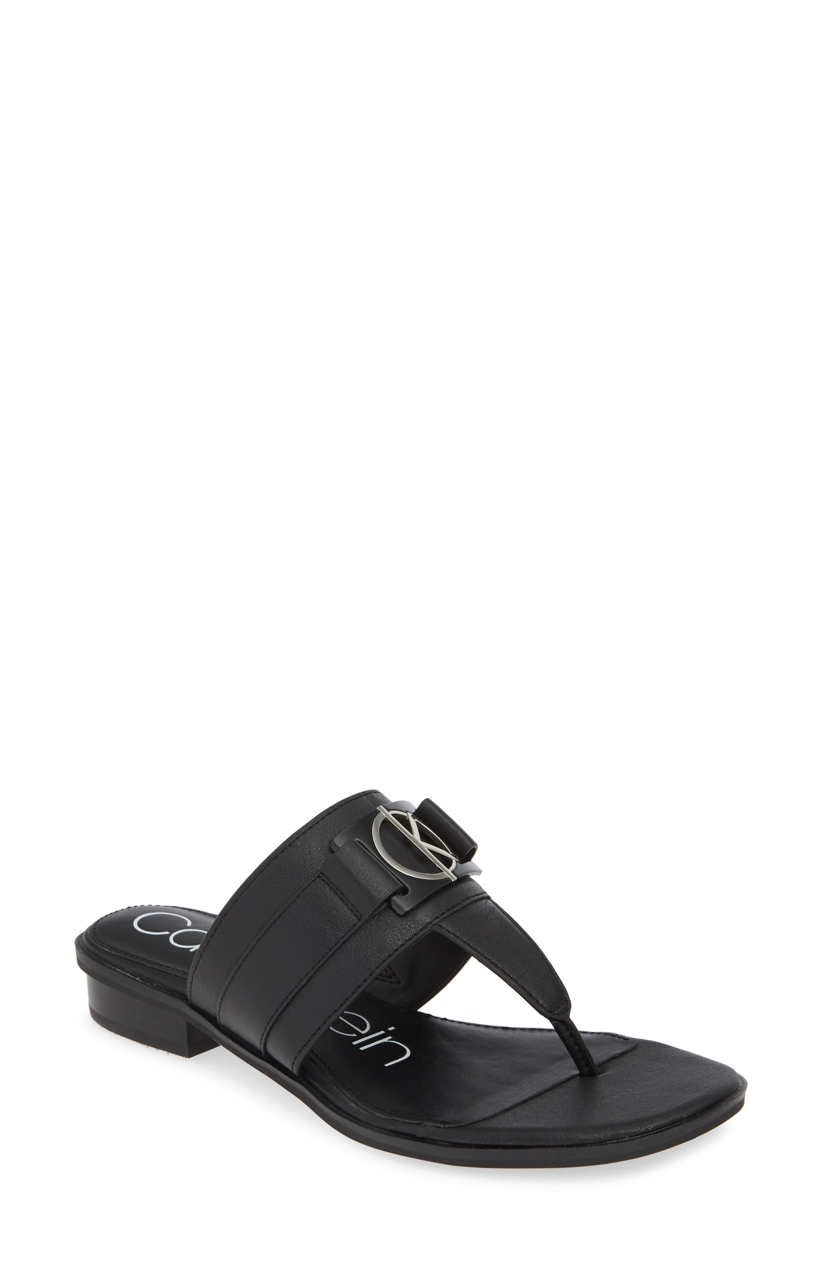 Calvin Klein Farley Flip Flop- Black