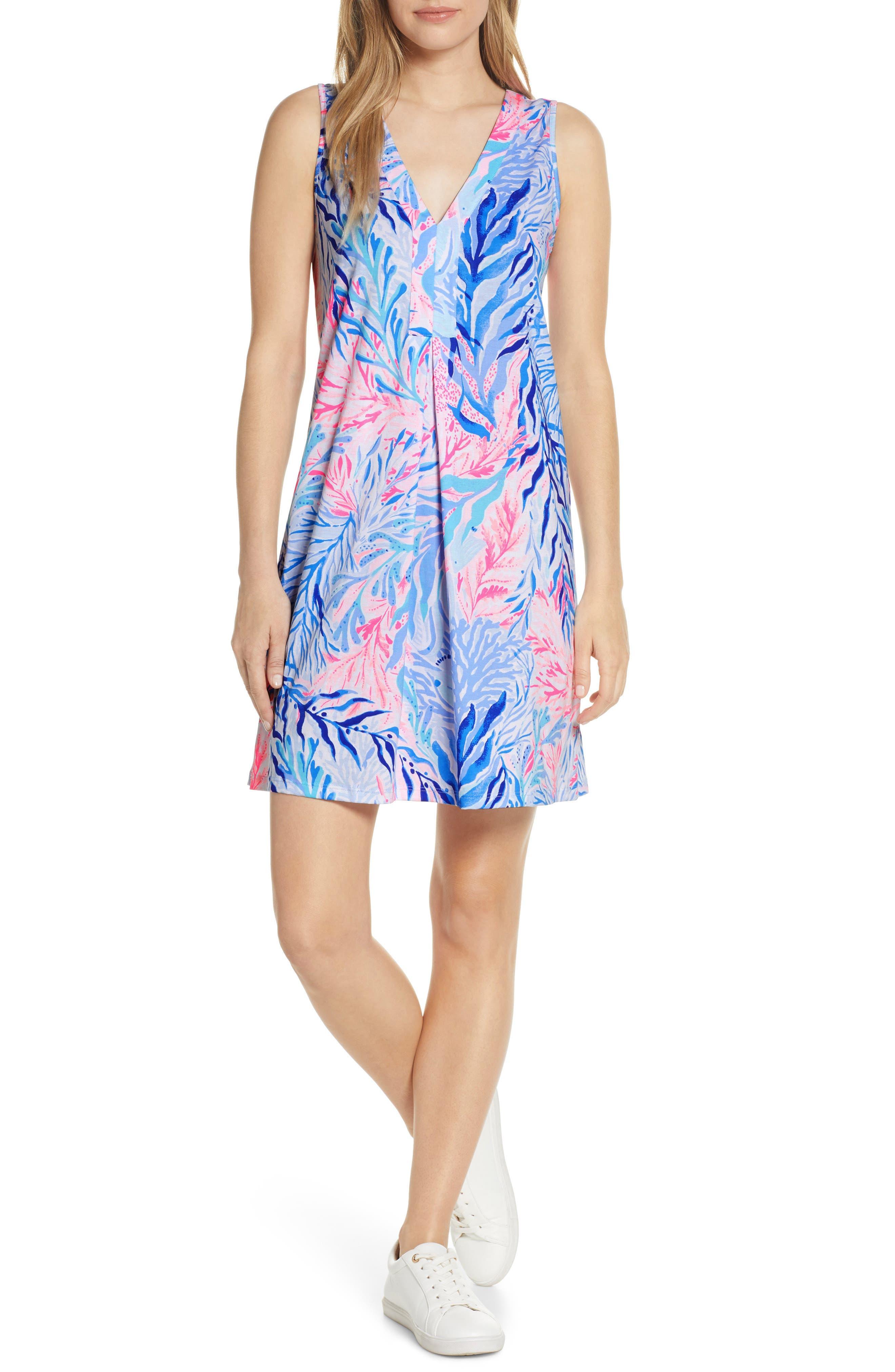 Lilly Pulitzer Amina Shift Dress, Blue