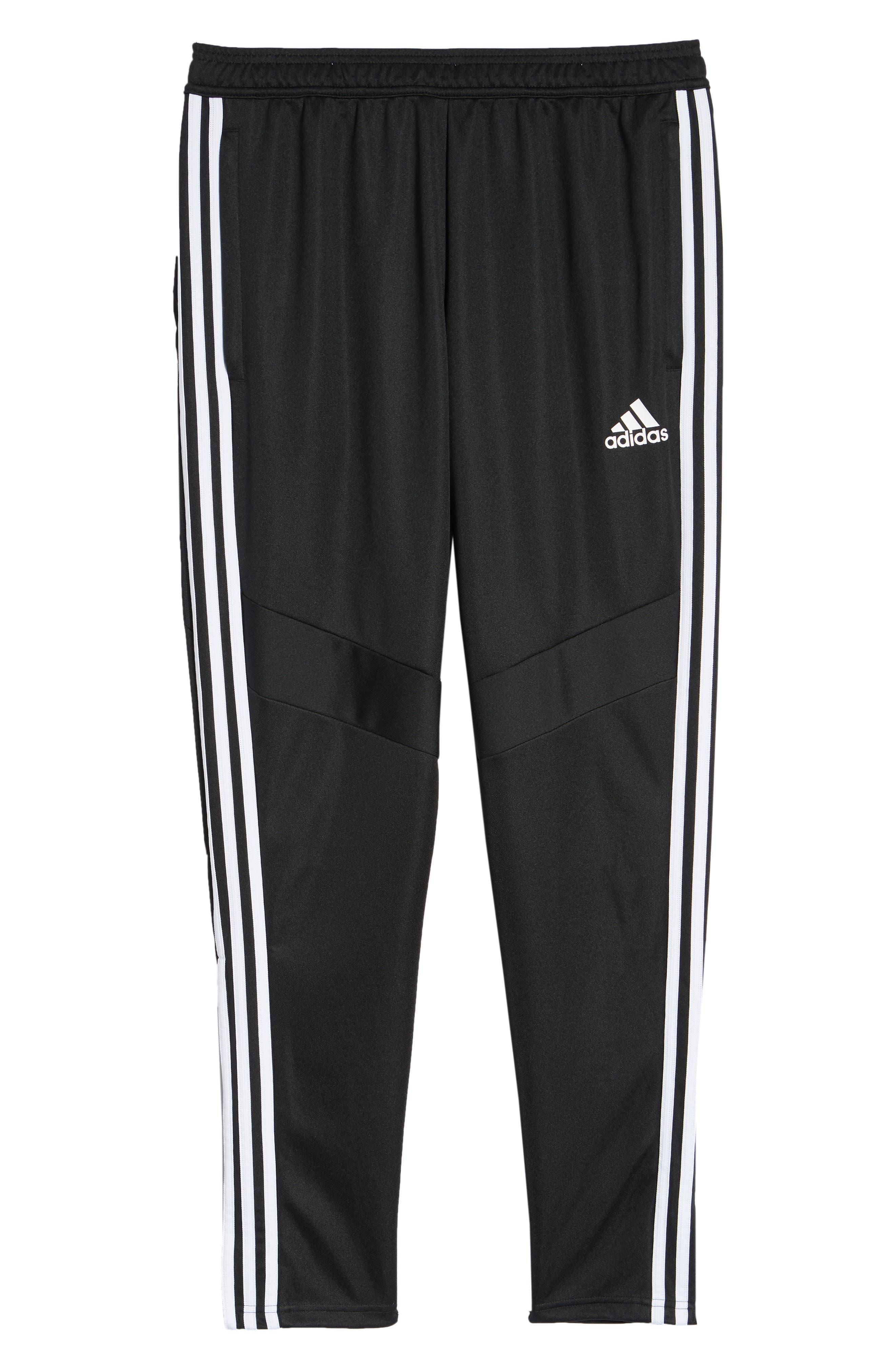 ,                             Tiro Soccer Training Pants,                             Alternate thumbnail 7, color,                             BLACK/ WHITE