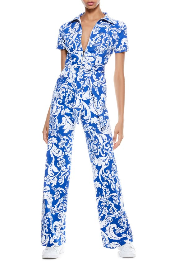Alice And Olivia GORGEOUS WIDE LEG JUMPSUIT