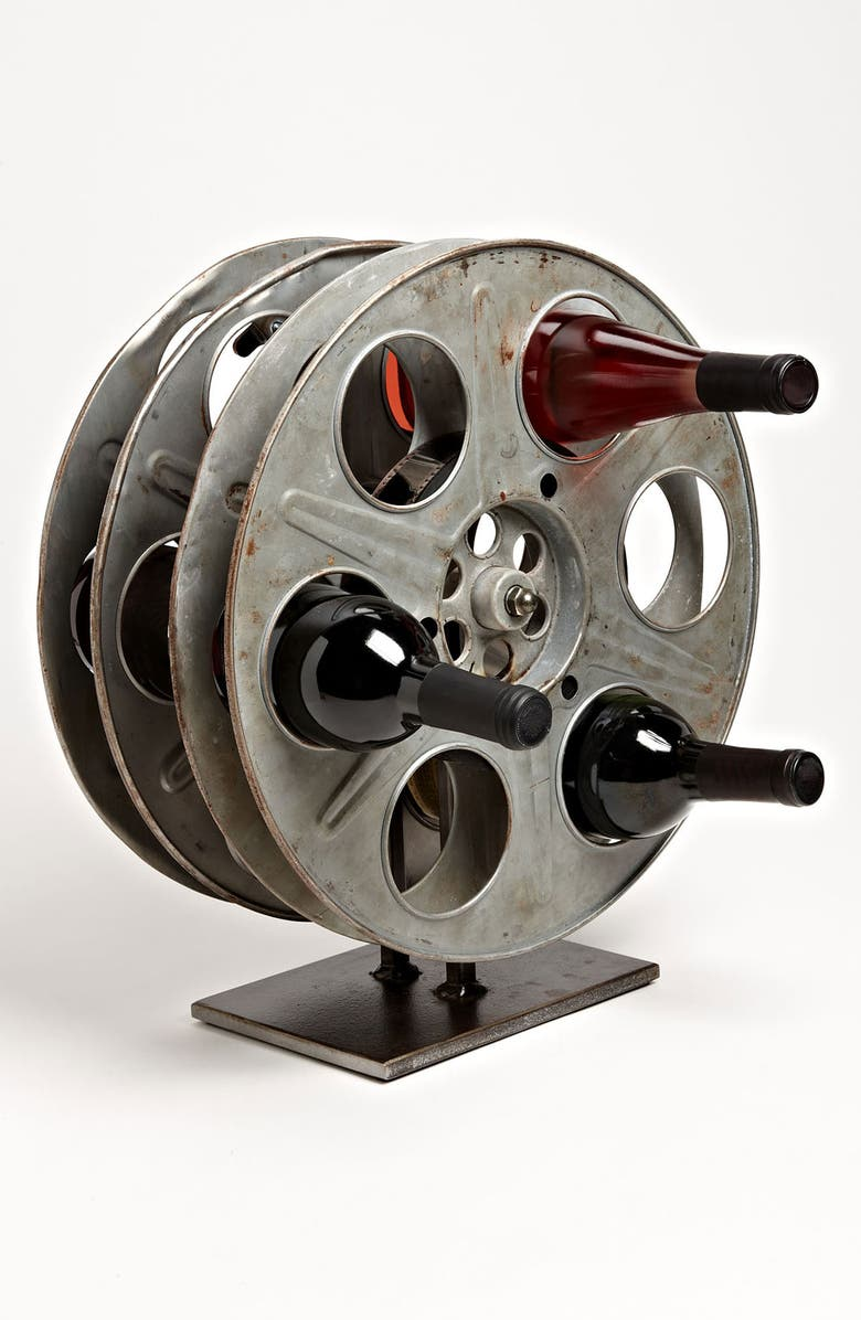 MOSS STUDIOS Film Reel Wine Rack, Main, color, 960