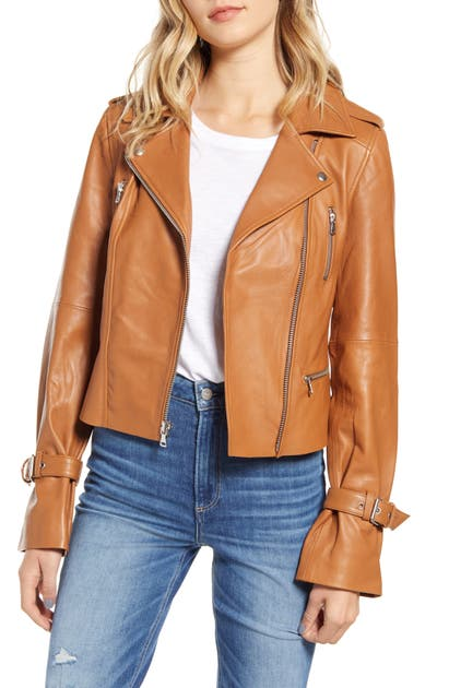 Paige Jackets RAYVEN LEATHER MOTO JACKET