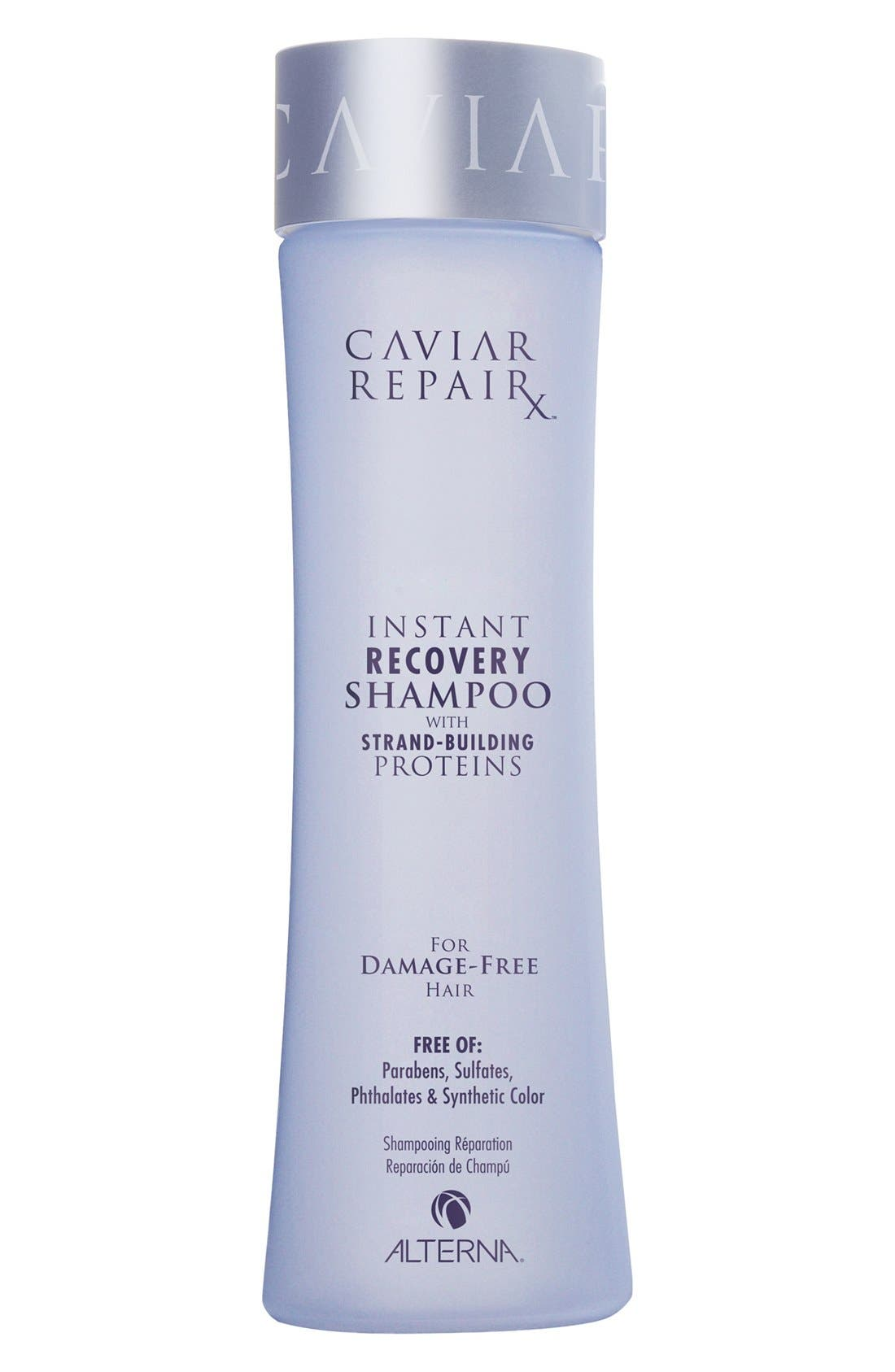 ,                             Caviar Repair Rx Instant Recovery Shampoo,                             Main thumbnail 1, color,                             000