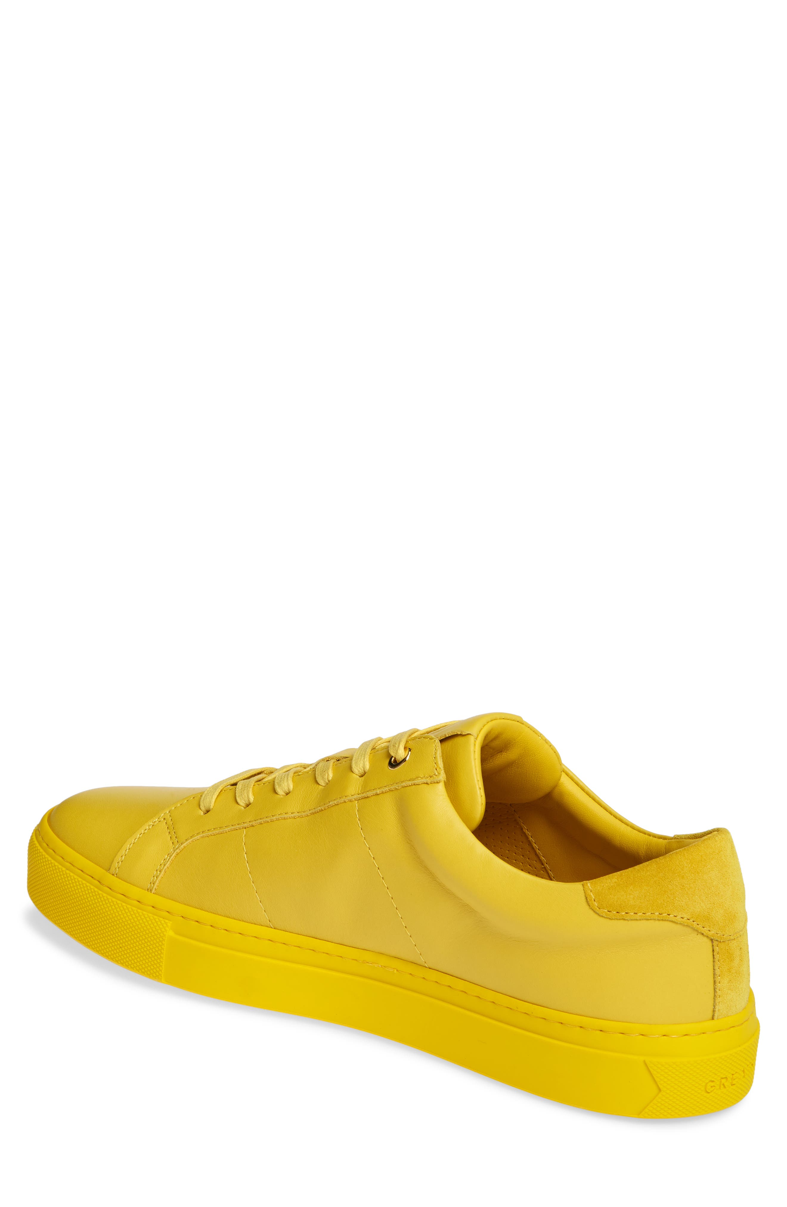 ,                             Royale Sneaker,                             Alternate thumbnail 2, color,                             YELLOW LEATHER