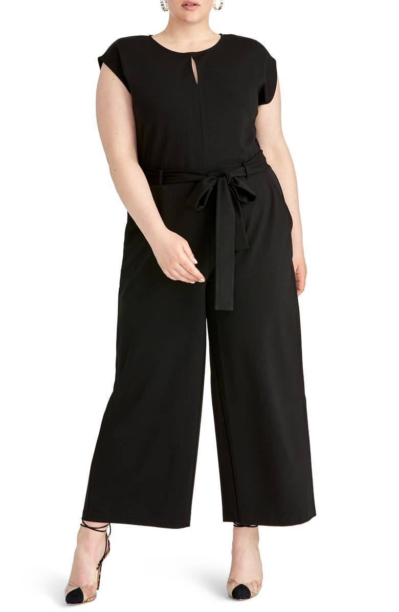 RACHEL RACHEL ROY Esme Wide Leg Jumpsuit, Main, color, 001