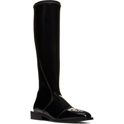 Fendi Knee-High Boot, Black