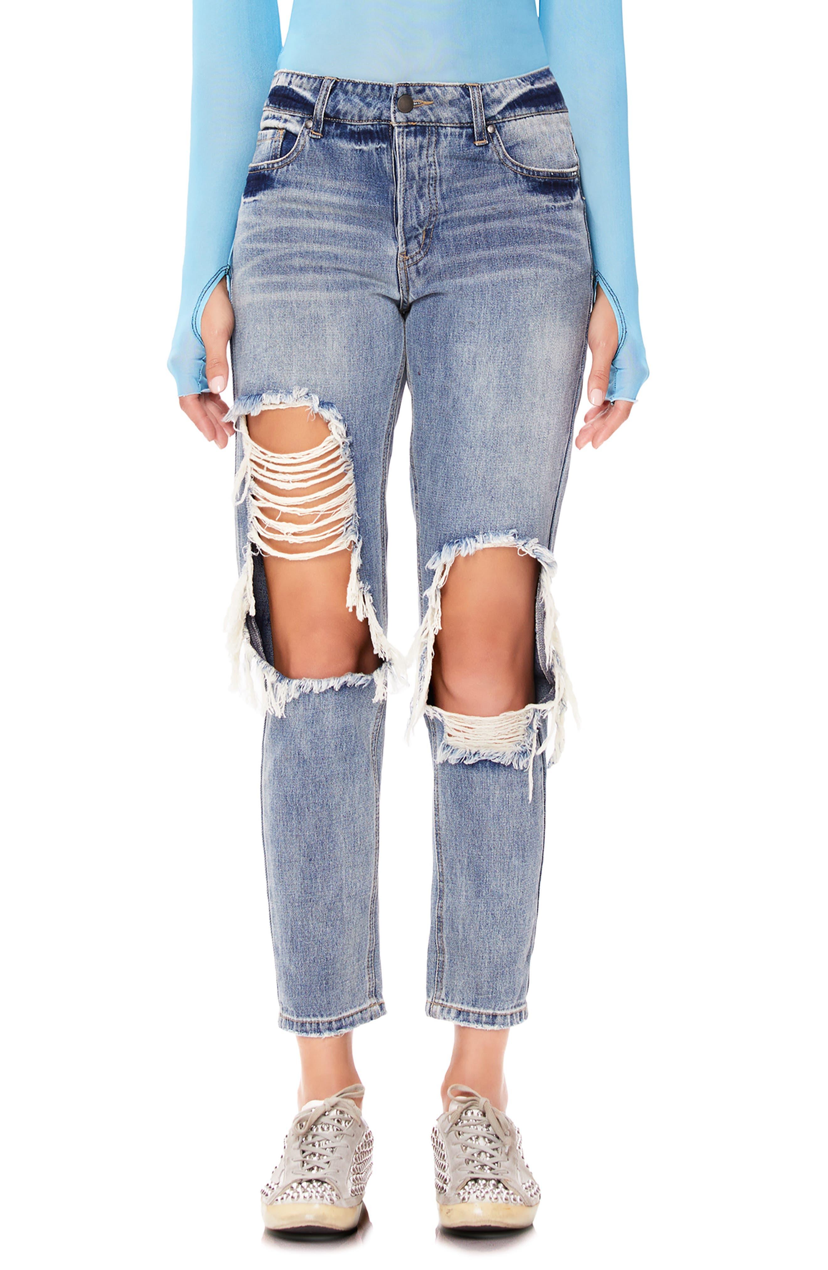 AFRM Cyrus High Waist Ankle Jeans (Sinner Wash)