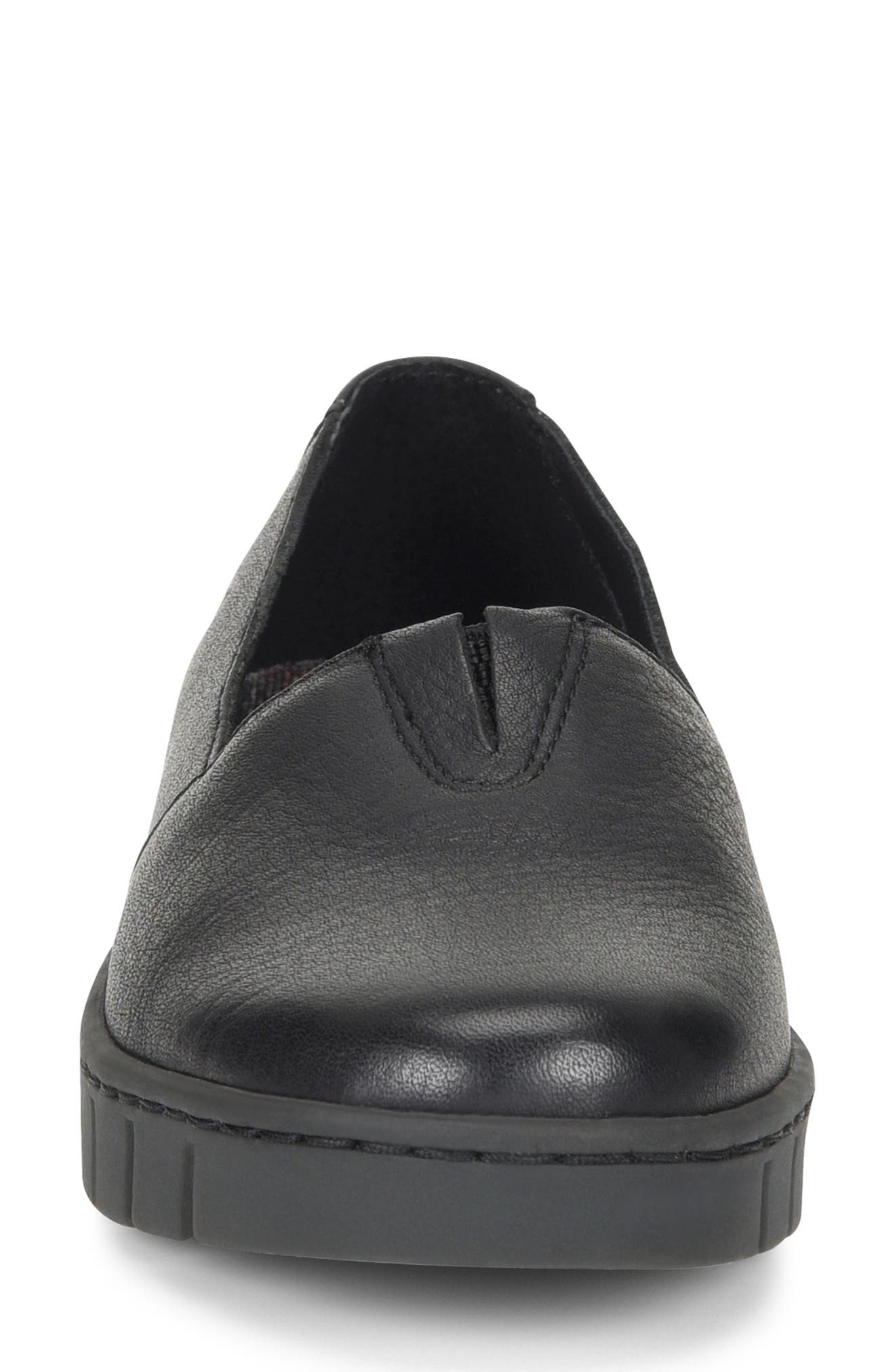 ,                             Congo Loafer,                             Alternate thumbnail 3, color,                             BLACK LEATHER