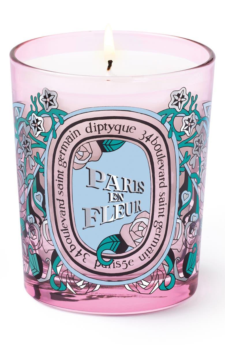 DIPTYQUE Paris en Fleur Candle, Main, color, NO COLOR