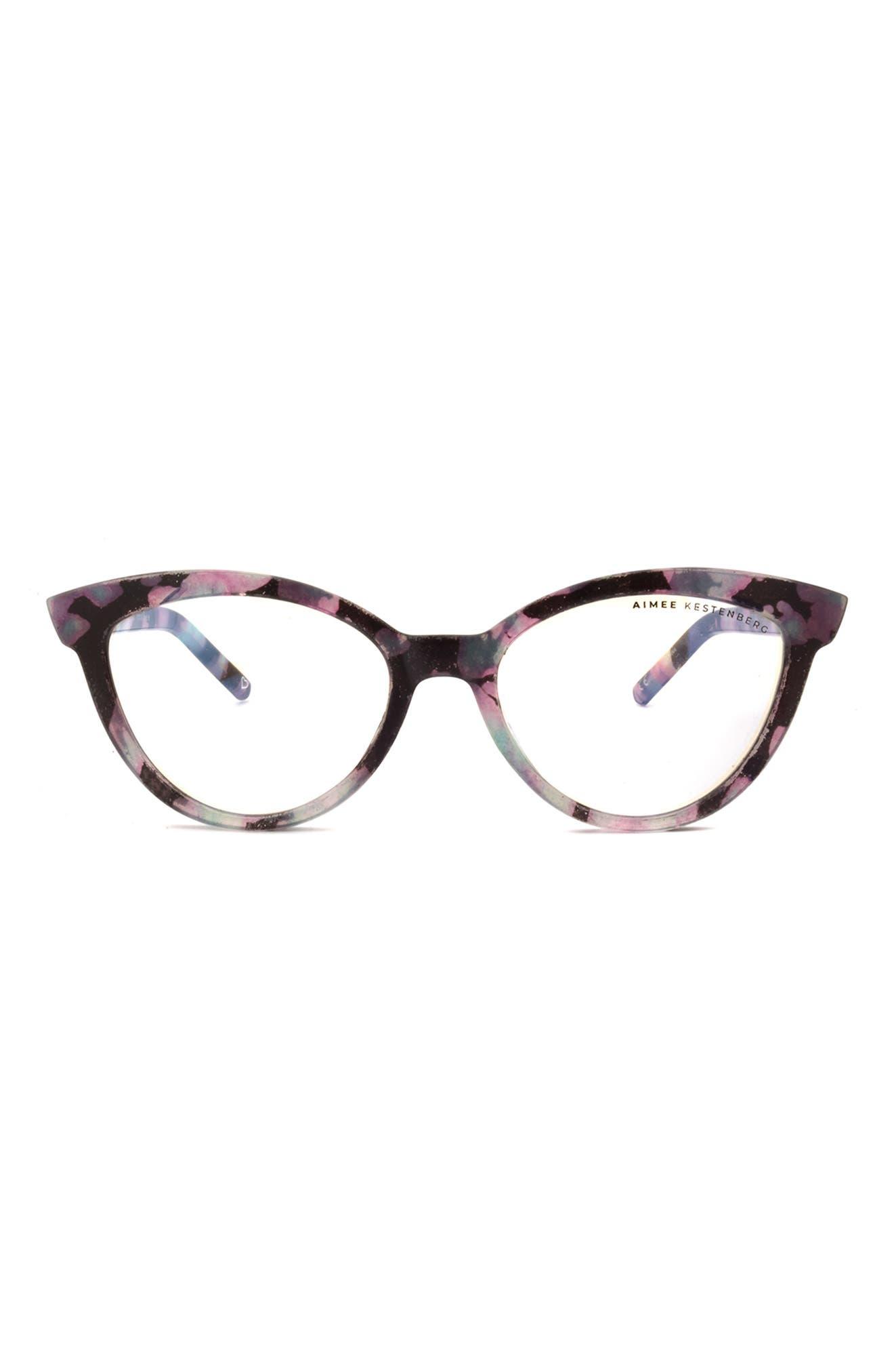 Madison 52mm Cat Eye Blue Light Blocking Glasses