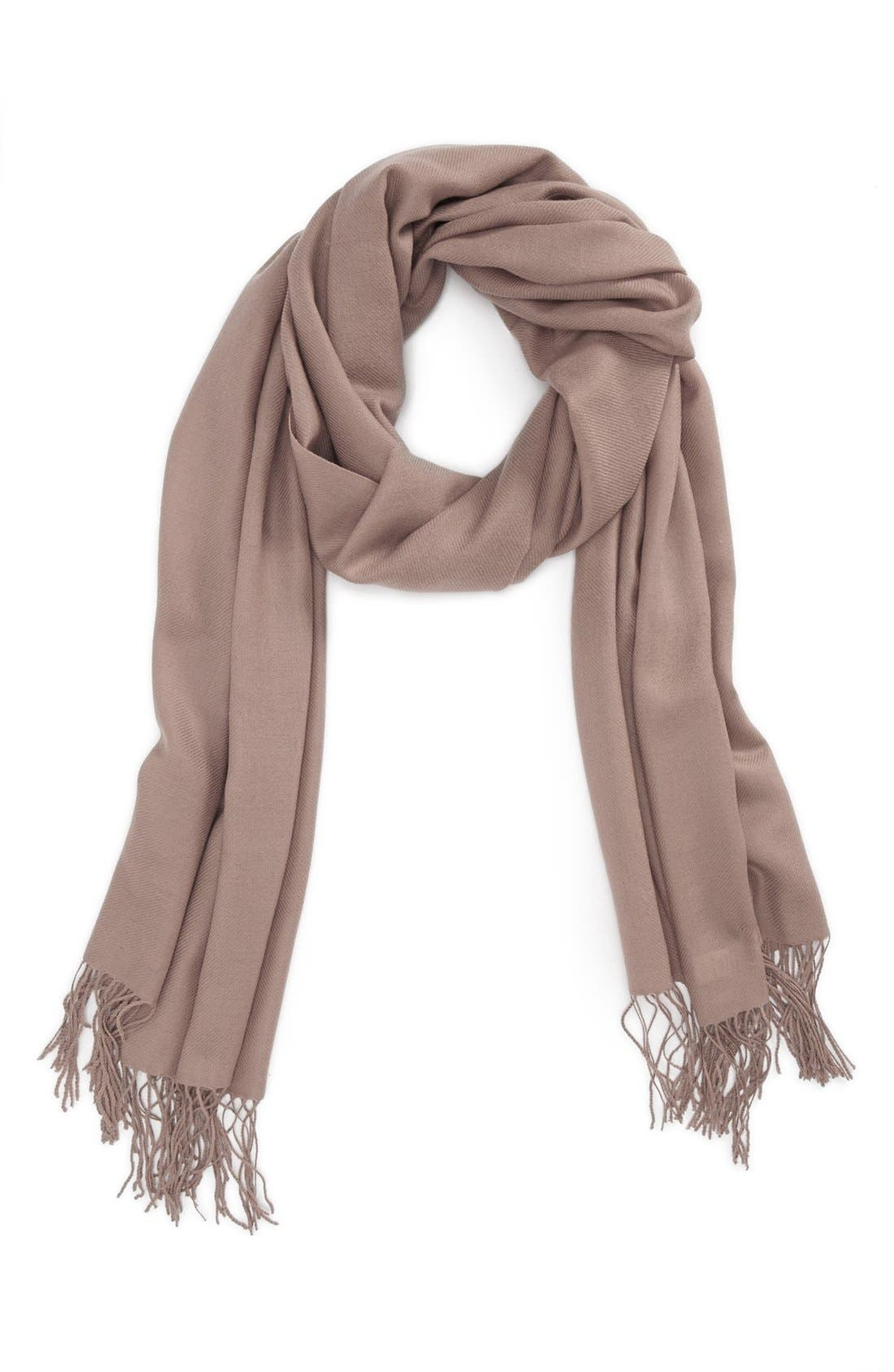 ,                             Tissue Weight Wool & Cashmere Wrap,                             Main thumbnail 42, color,                             255
