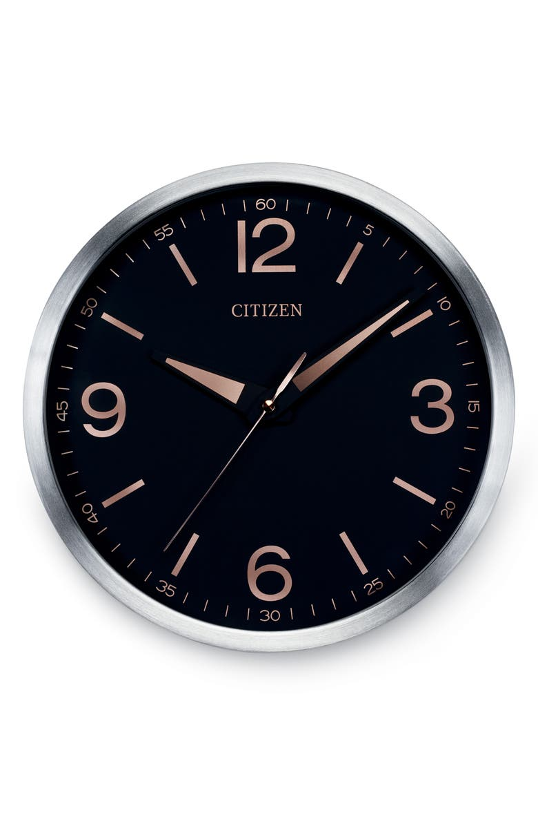 CITIZEN Modern Gallery Wall Clock, Main, color, 001