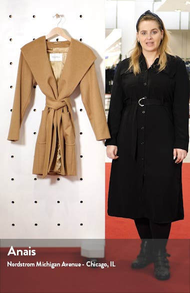 Rialto Hooded Camel Hair Coat, sales video thumbnail