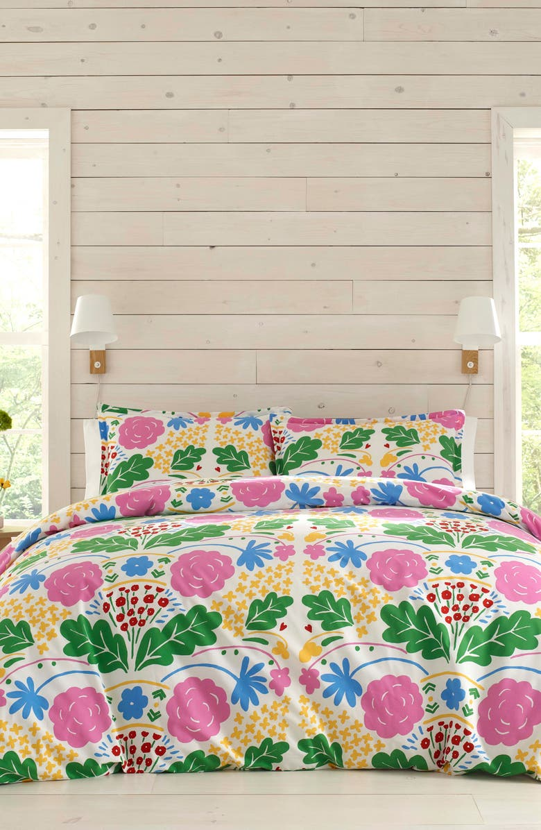 MARIMEKKO Omni Duvet Cover & Sham Set, Main, color, MULTI