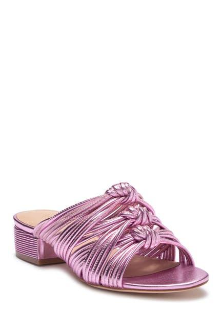 Image of Rachel Zoe Wren Metallic Nappa Sandal