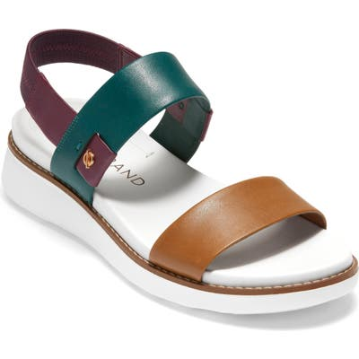 Cole Haan Zerogrand Double Band Sandal B - Brown