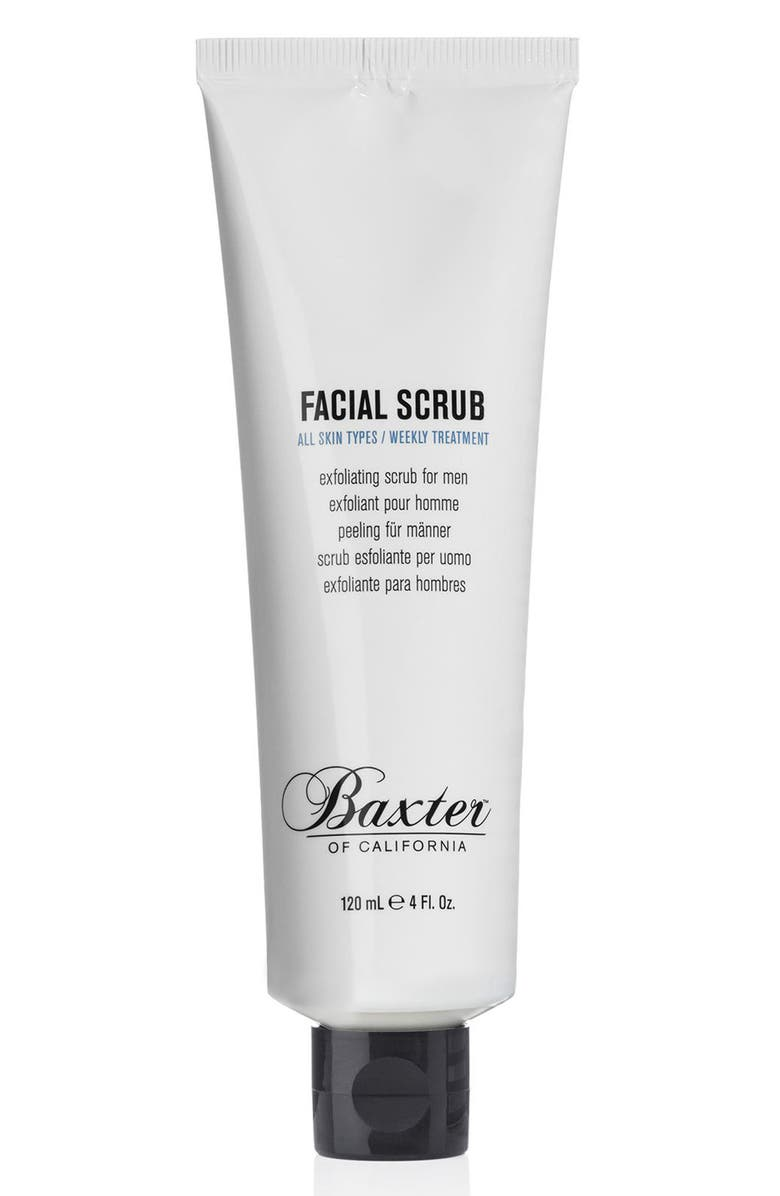 BAXTER OF CALIFORNIA Facial Scrub, Main, color, NO COLOR