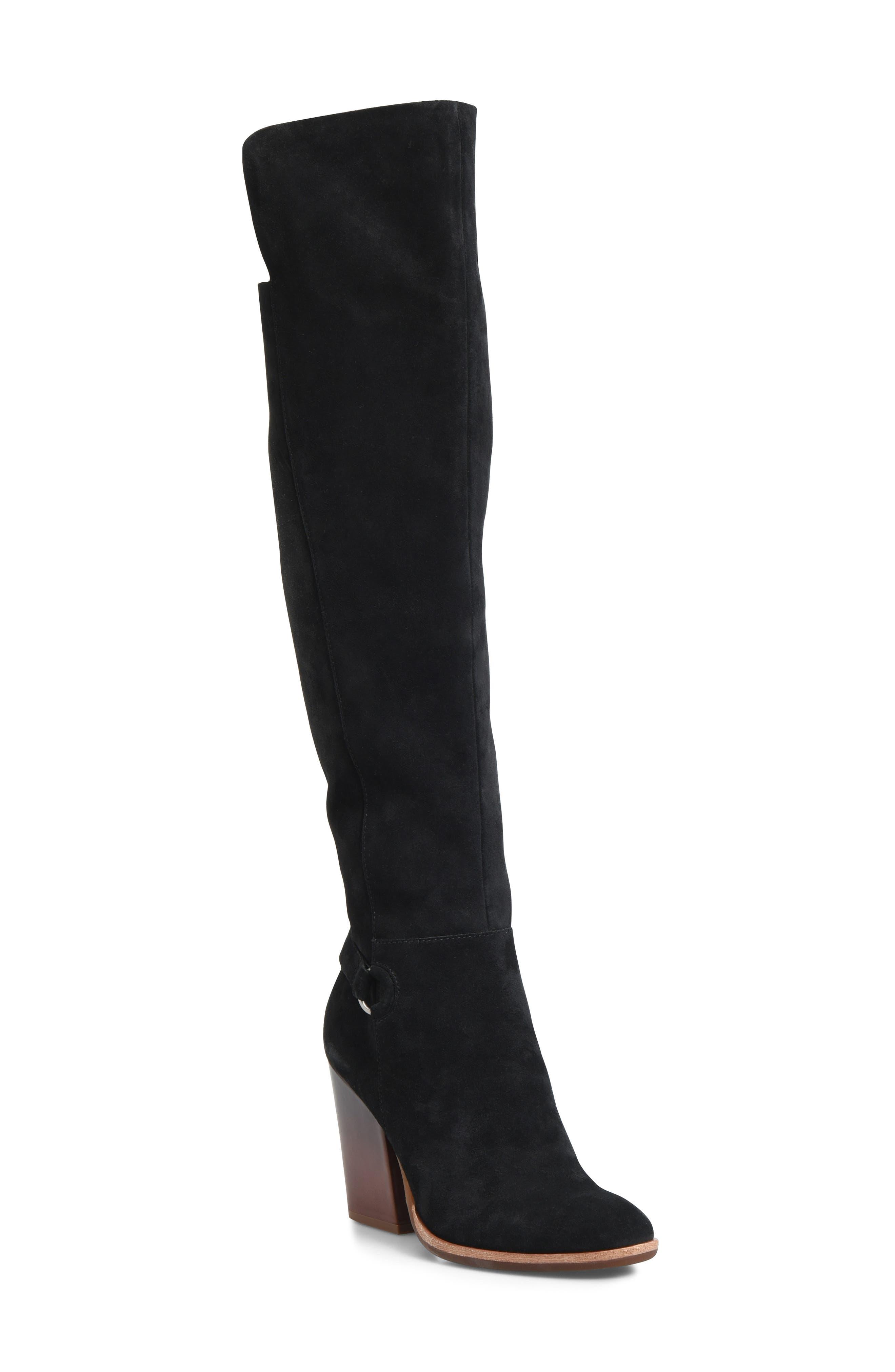 Kork-Ease Pavan Knee High Boot, Black