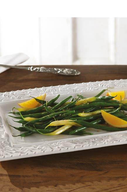 Image of Jay Import Bianca Leaf Rectangle Platter