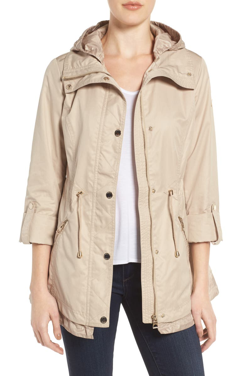 GUESS City Roll Sleeve Anorak, Main, color, 254
