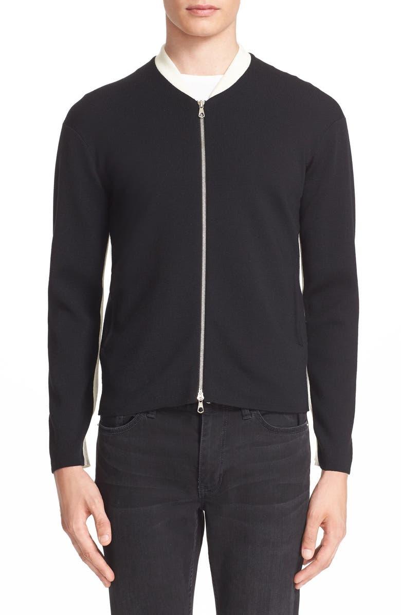 8f63bfa837 Tomorrowland Full Zip Wool Blend Sweater | Nordstrom