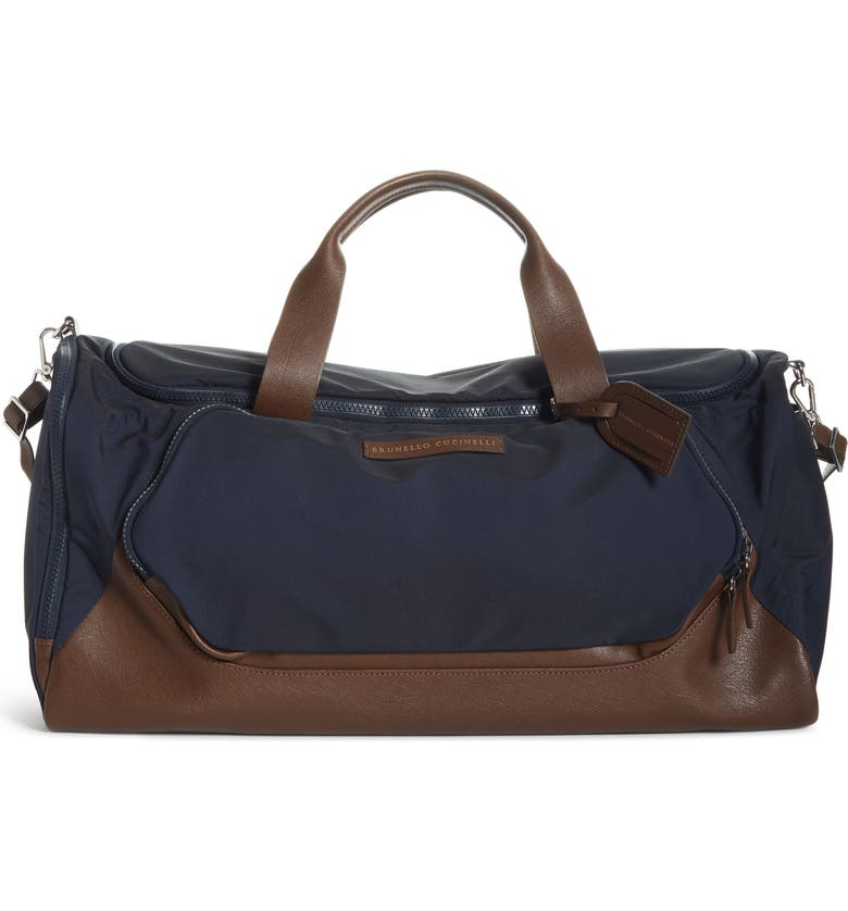 BRUNELLO CUCINELLI Duffle Bag, Main, color, 406