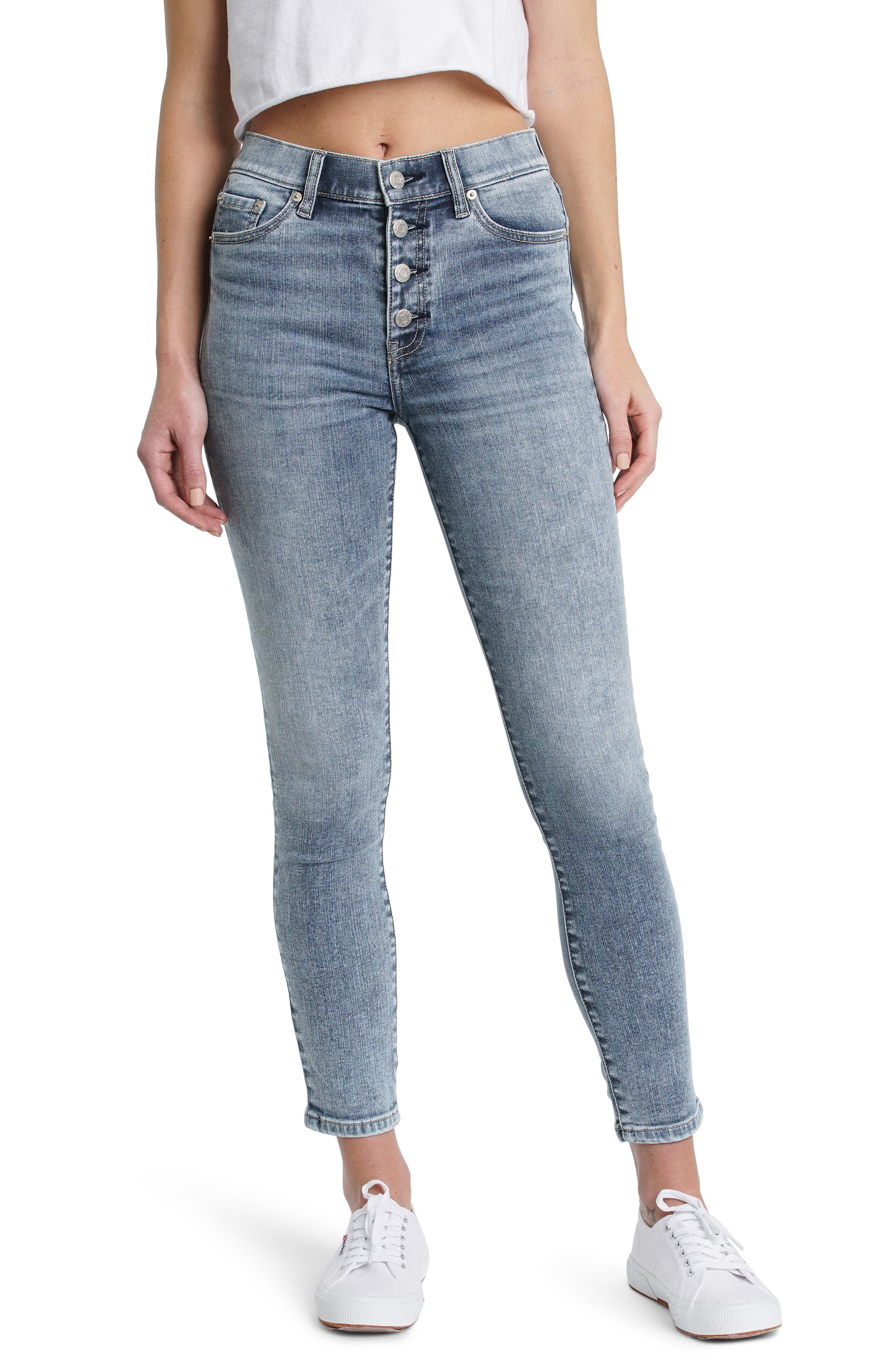 DAZE Call You Back High Waist Skinny Jeans (Fast Times) | Nordstrom