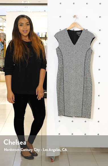 Abby Bouclé Knit Dress, sales video thumbnail