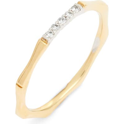 Bony Levy Diamond Bar Octagon Ring (Nordstrom Exclusive)