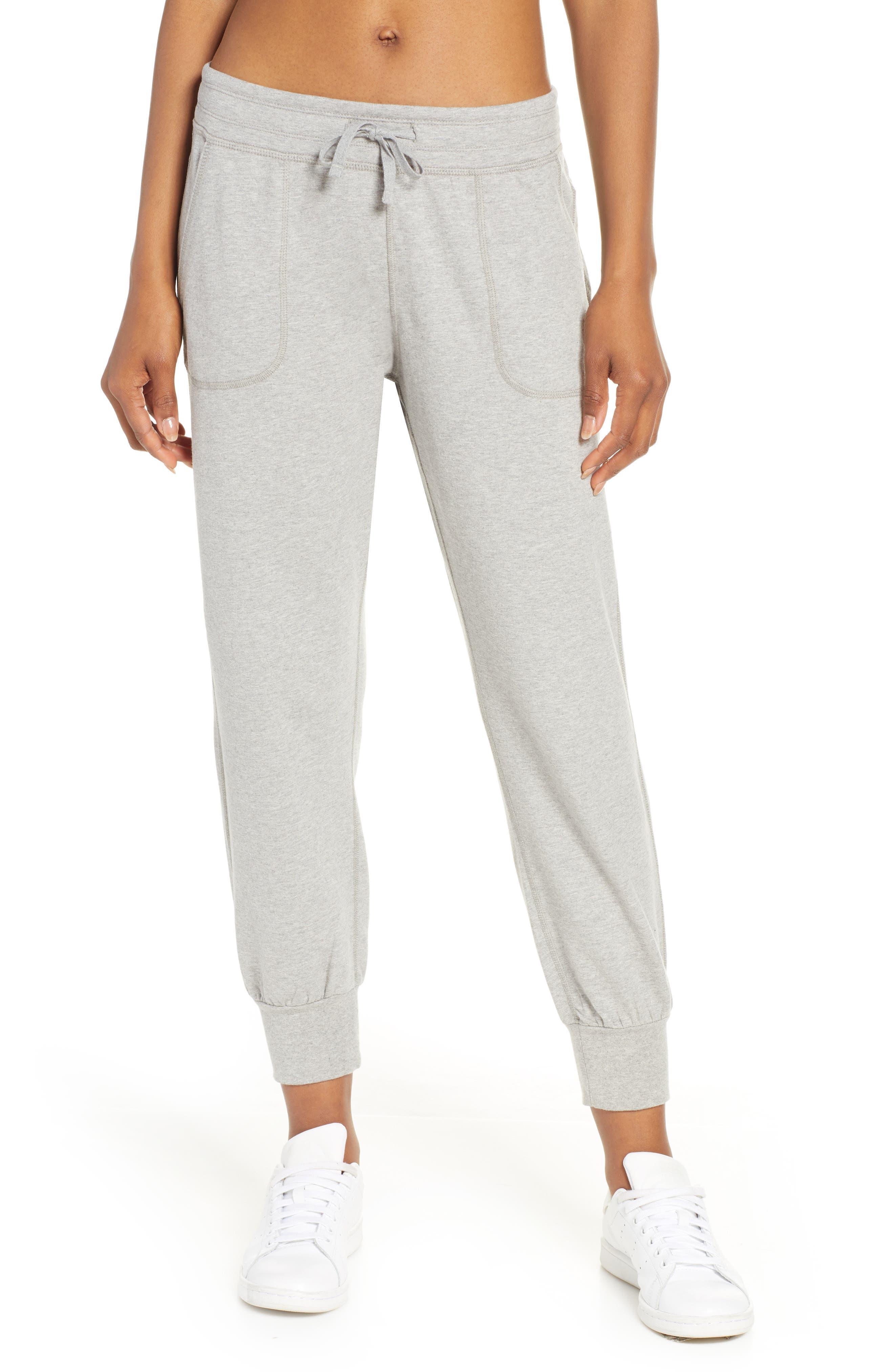 Patagonia Ahnya Fleece Pants, Grey
