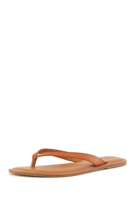 Image of NEST FOOTWEAR Slim Strap Thong Sandal
